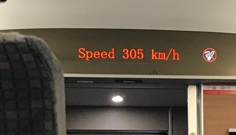 Bullet Train speed